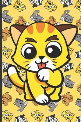 Cute Little Cat Notebook by Janice H McKlansky Publishing