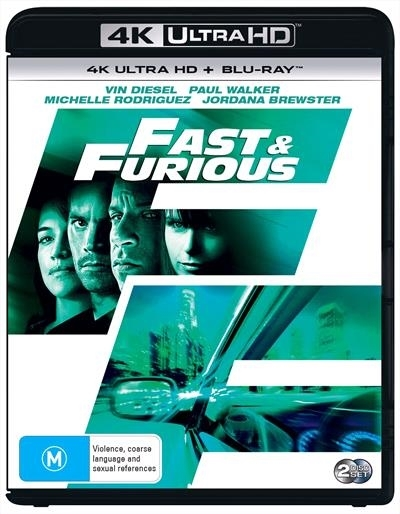 Fast & The Furious 4 on UHD Blu-ray image