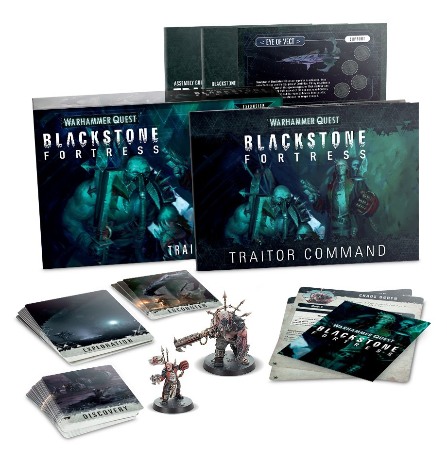 Blackstone Fortress: Traitor Command image