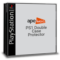 Ape Basics: PS1 (Double) Case Protector - 10-Pack