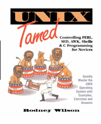 UNIX Tamed by Rodney C. Wilson image