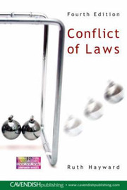Conflict of Laws by Ruth Hayward image