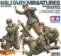 Tamiya German Infantry Mortar Team 1/35 Figure Set