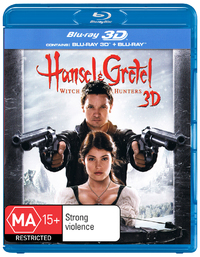 Hansel & Gretel: Witch Hunters on Blu-ray, 3D Blu-ray