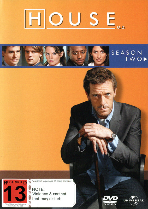 House, M.D. - Season 2 (6 Disc Slimline Set) on DVD