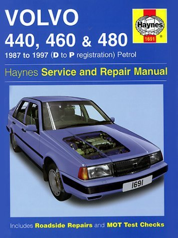 Volvo 440, 460 and 480 (1987-97) Service and Repair Manual by A.K. Legg image
