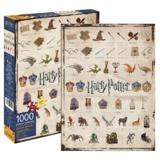 Harry Potter: Icons - 1,000 -Piece Puzzle