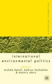 Palgrave Advances in International Environmental Politics image