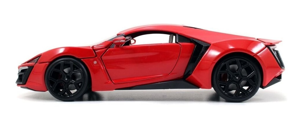 Jada: 1/24 Dom's Lykan Hypersport - Diecast Model image