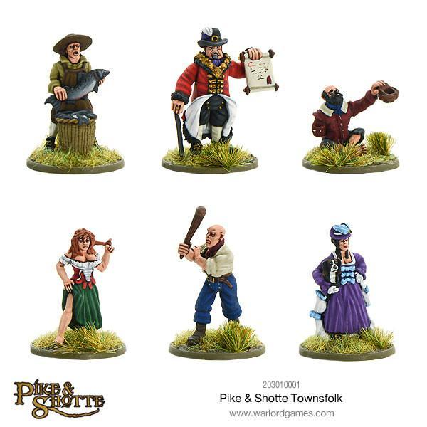 Pike & Shotte Townsfolk image