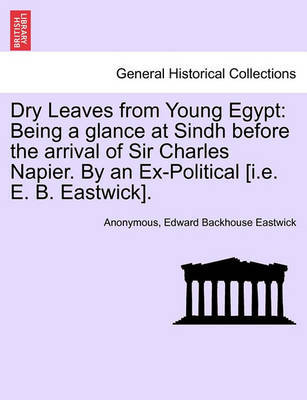 Dry Leaves from Young Egypt by * Anonymous