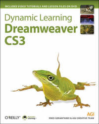 Dynamic Learning: Dreamweaver CS3 by AGI Training Team image