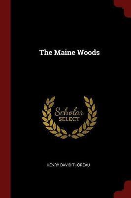 The Maine Woods by Henry David Thoreau image