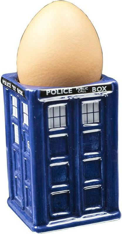 Doctor Who TARDIS Egg Cup