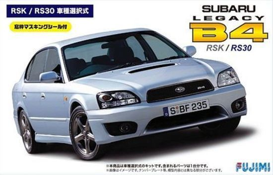 Fujimi: 1/24 Subaru Legacy B4 RSK / RS30 - Model Kit