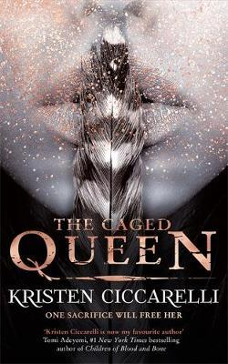 The Caged Queen by Kristen Ciccarelli image