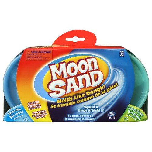 Moon Sands - Refill Kit Coloured Sand - Space Blue & Galaxy Green image