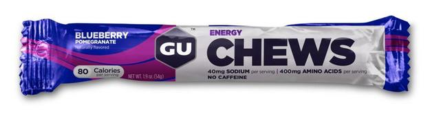 GU Energy Chews - Blueberry Pomegranate (54g)