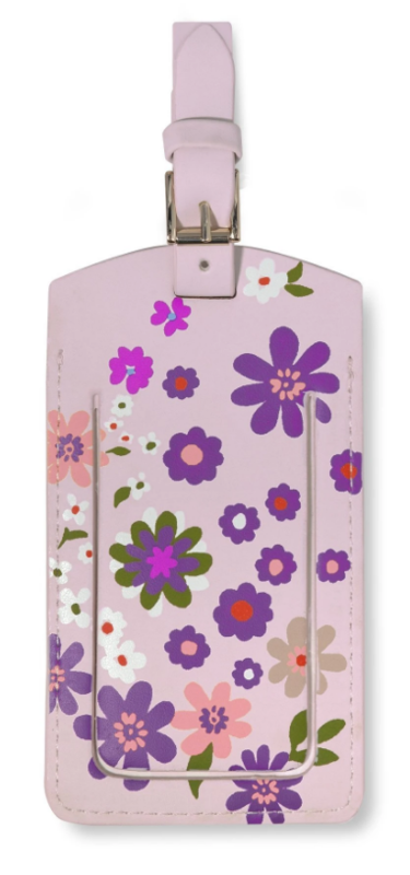 Kate Spade: Luggage Tag - (Pacific Petals)