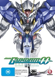Mobile Suit Gundam 00 Second Season Collection on DVD