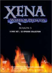 Xena - Warrior Princess: Season 3 (6 Disc Set) on DVD