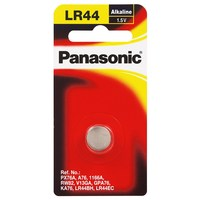Panasonic Micro Alkaline Calculator Coin Cell Battery - LR44