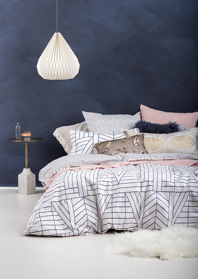 Bambury Double Quilt Cover Set (Quartz) image