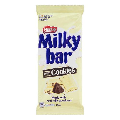 Milkybar - Milk & Cookies Block (180g) image
