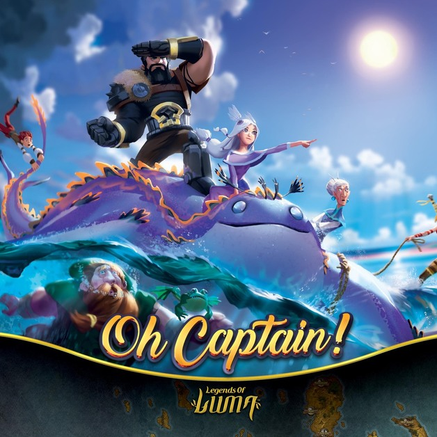 Oh Captain - Board Game