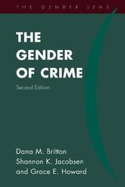 The Gender of Crime by Dana M Britton image