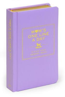 Mom's One Line a Day: A Five-Year Memory Book by Books LLC Chronicle image