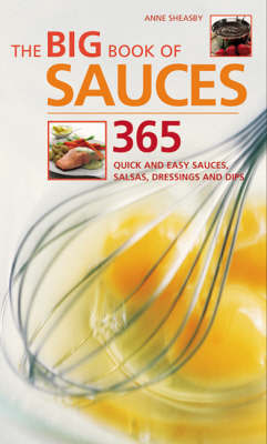 The Big Book of Sauces by Anne Sheasby image