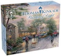 Thomas Kinkade Painter of Light 2019 Day-to-Day Calendar by Thomas Kinkade