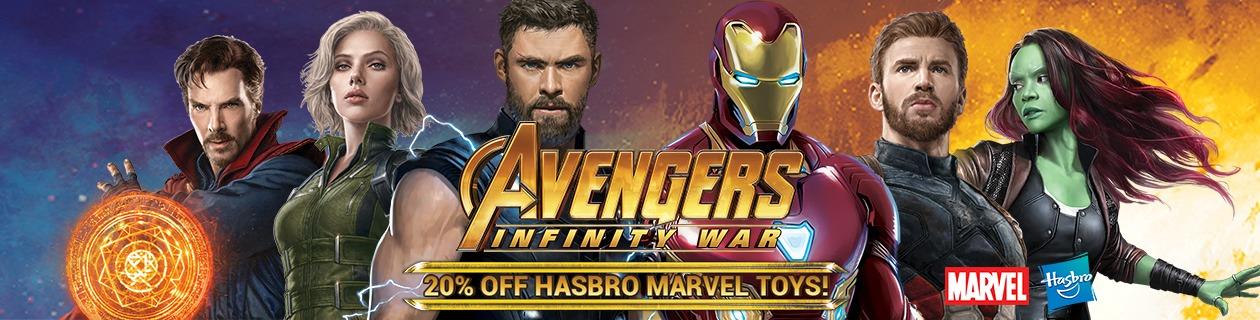 Hasbro Marvel Toy Deals!