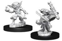 Pathfinder Deep Cuts: Unpainted Miniatures - Male Goblin Alchemist image