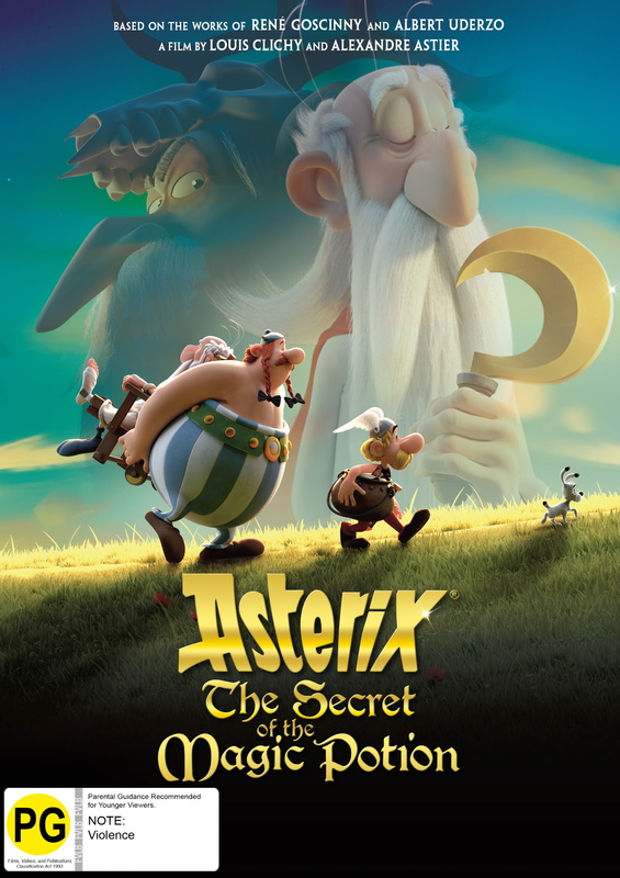 Asterix - The Secret Of The Magic Potion on DVD