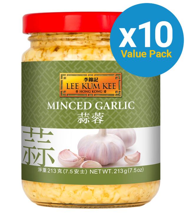 Lee Kum Kee Minced Garlic 213g x 10