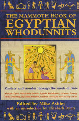 The Mammoth Book of Egyptian Whodunnits by Mike Ashley image