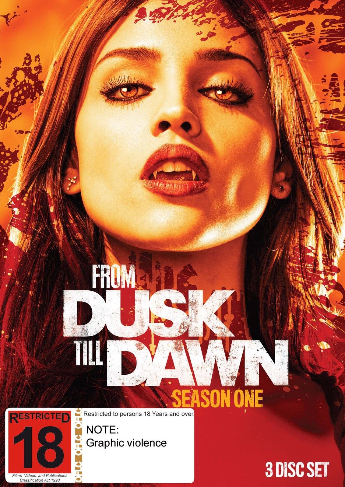From Dusk Till Dawn - Season 1 on DVD image