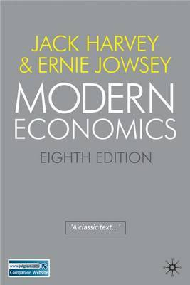 Modern Economics by Jack Harvey