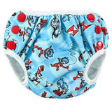 Bumkins Swim Nappy - Cat In The Hat (Medium)