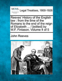 Reeves' History of the English Law by John Reeves image