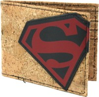 Superman: Cork & Applique Bi-fold Wallet