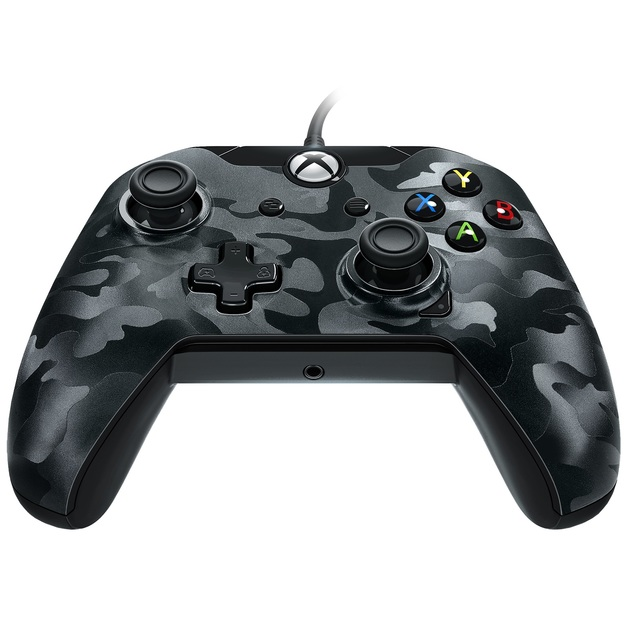 pdp wired controller for xbox one camo black xbox one in stock