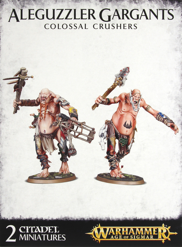 Warhammer Age of Sigmar: Aleguzzler Gargants Colossal Crushers