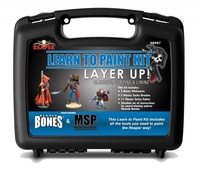 Reaper Bones Learn to Paint Kit- Layer Up!