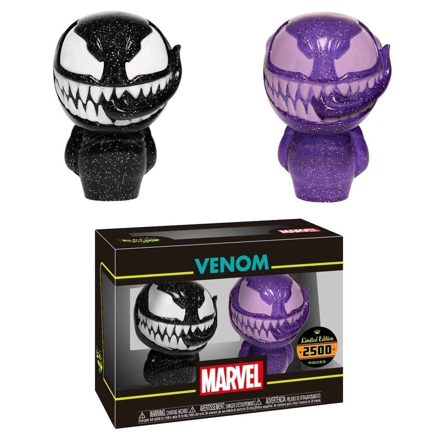 Marvel: Venom (Black & Purple) - Hikari XS Vinyl Figure 2-Pack image