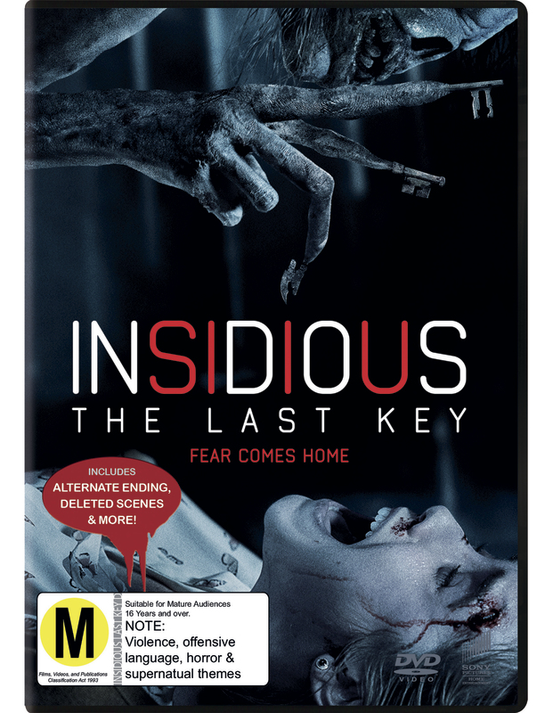 Insidious: The Last Key on DVD