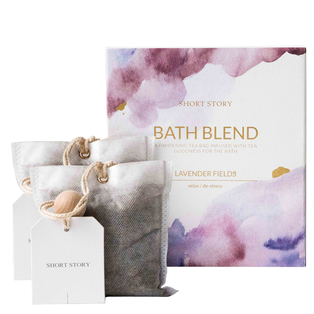 Short Story Bath Blend and Card (Lavender)