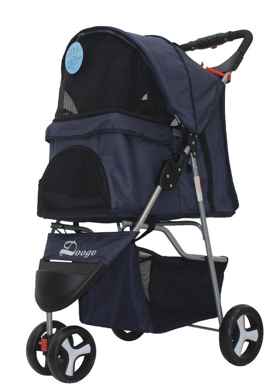 Easy Walk Pet Stroller - Navy